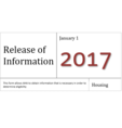 AHA Release of Information